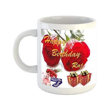 Buy Happy Birthday Raj Online At Low Prices In India Amazon In