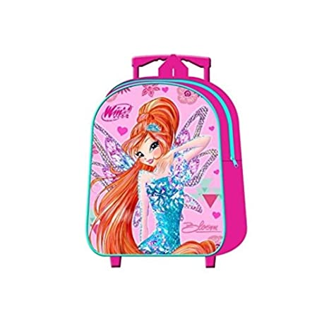 843f23d2782c1a Zainetto Trolley Asilo Winx Bloom - Pieghevole: Amazon.it: Valigeria