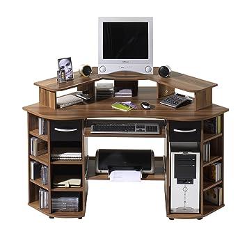 Eck computertisch  ROLLER Eck-Schreibtisch VANCOUVER Computertisch Arbeitstisch ...