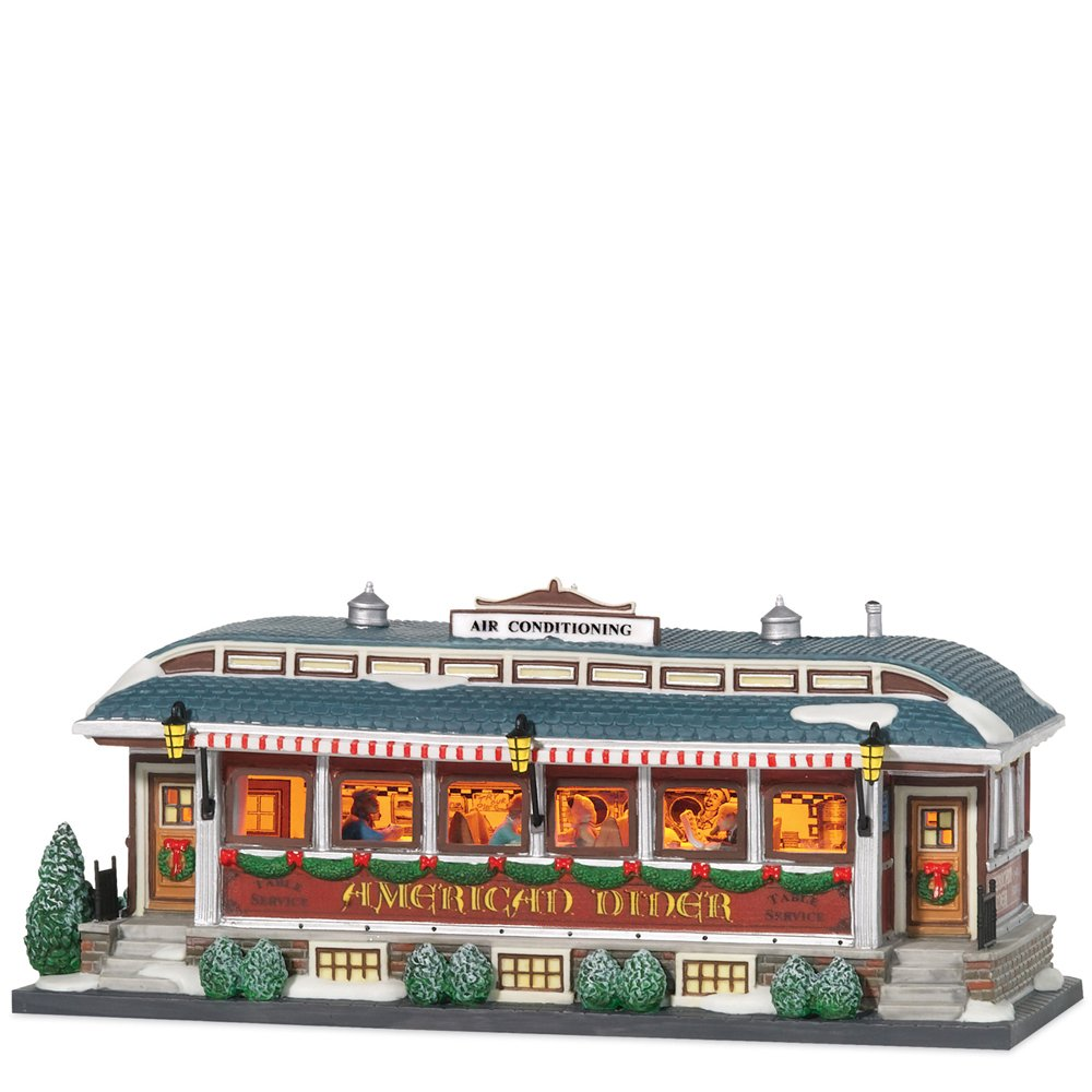 Department 56 Christmas in the City American Diner by Department 56
