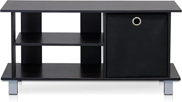 Furinno Stand Entertainment Center for TVs up to .A 46 Inch - Econ Brown, Expresso