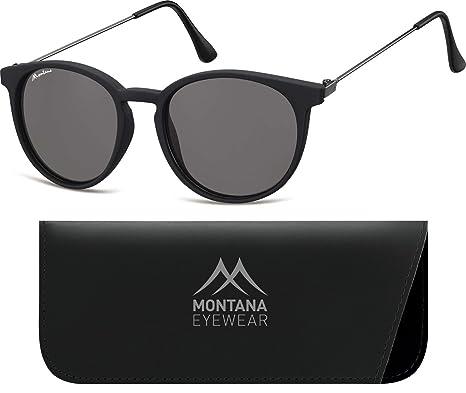 5c41c65de7d11f Montana S33, Lunettes De Soleil Mixte, Multicoloured (Black Smoked Lenses),  Taille Unique  Amazon.fr  Vêtements et accessoires