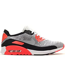 online store c9e9e 26229 NIKE Women s W Air Max 90 Ultra 2.0 Flyknit, White-Wolf Grey-Bright