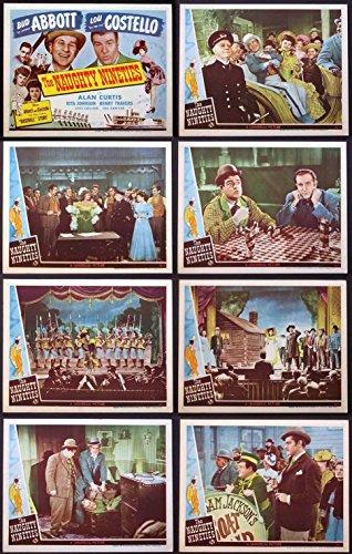 NAUGHTY NINETIES ABBOTT & COSTELLO BASEBALL WHO'S ON FIRST 1945 LOBBY - 90s Baseball Movie