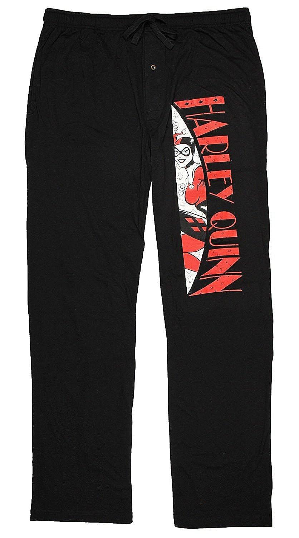 DC Comics Harley Quinn Mens Pajama Pants