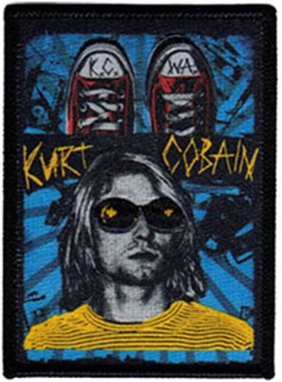 Nirvana Kurt KCWA Patch Aufn/äher