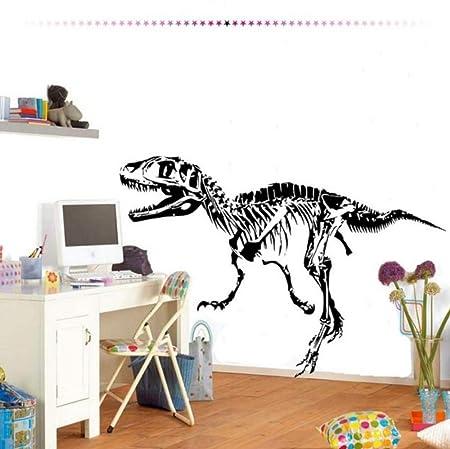 Lkfqjd Esqueleto Dinosaurios Pegatinas De Pared E-Co Amistoso ...