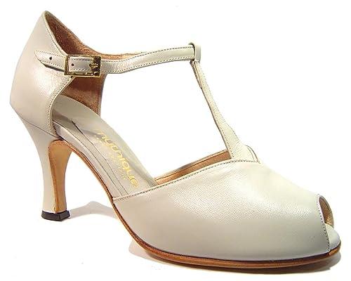 Zapatos De Tango Para Dama Salsa Latino Baile Mujer - Mythique - Graciela - Talla 42: Amazon.es: Zapatos y complementos