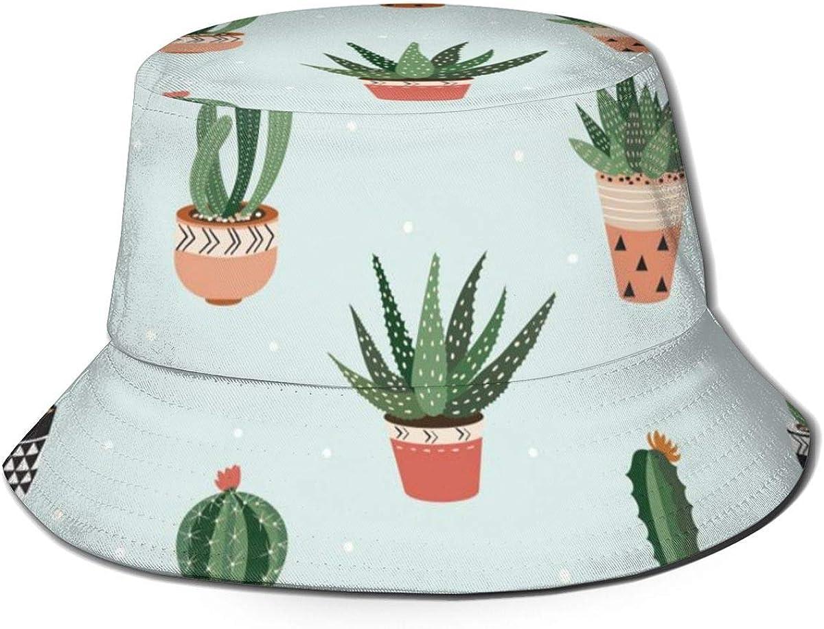 Cactus Bucket Hat Summer UV...