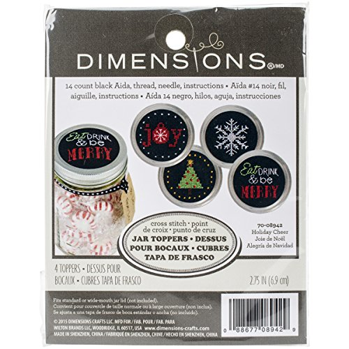 Dimensions Crafts 70 08942 Needlecraft Holiday