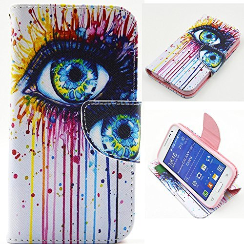 Galaxy Core Prime Case, Cafeleo Core Prime Wallet Case, Luxury PU Leather Cover with Card Slots Folio Flip Stand for Samsung Galaxy Core Prime(G360)