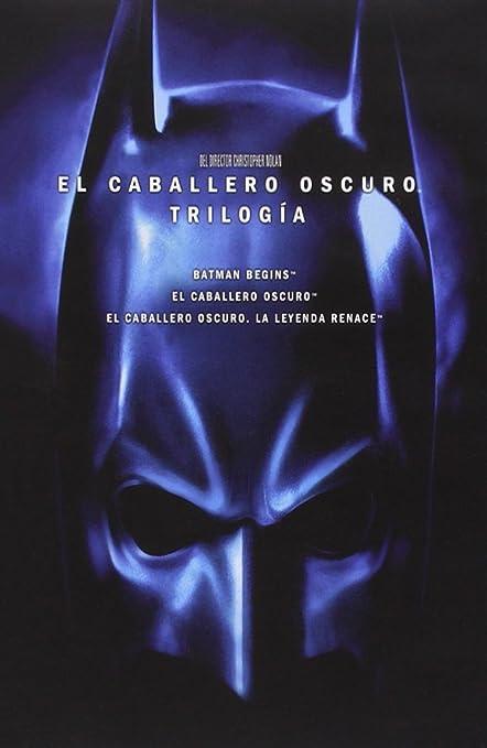 Pack Batman Nolan: Batman Begins + El Caballero Oscuro + El ...