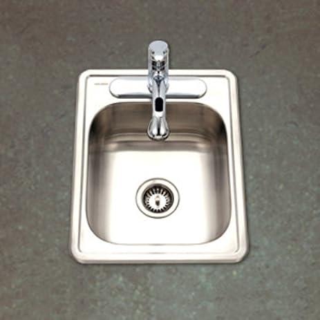 Merveilleux Hospitality 22u0026quot; X 17u0026quot; Topmount 22 Gauge Large Bar Sink, ...