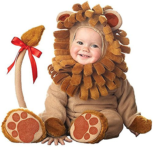 Toddler Baby Infant Male Lion King Of Jungle Christmas Dress up Outfit Costume]()