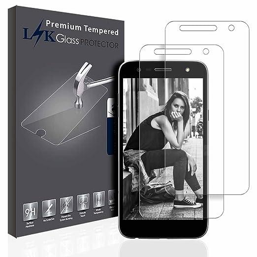 3 opinioni per LG X Power 2 Pellicola Protettiva, LK [2 Pack] Protezione Schermo Vetro
