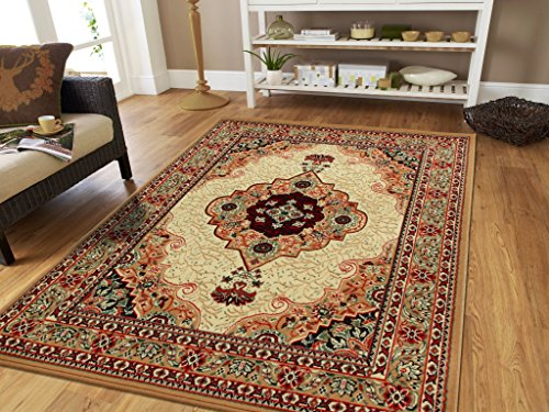 Amazon Com New Beige Area Rugs 5x8 Clearance Under 50 Traditional
