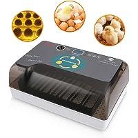 Incubadora Automática de Huevos con Pantalla y Luz