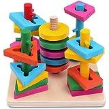 Bau- & Konstruktionsspielzeug-sets Spielzeug 86 Bunte Gebrauchte Bausteine In Verschiedenen Größen