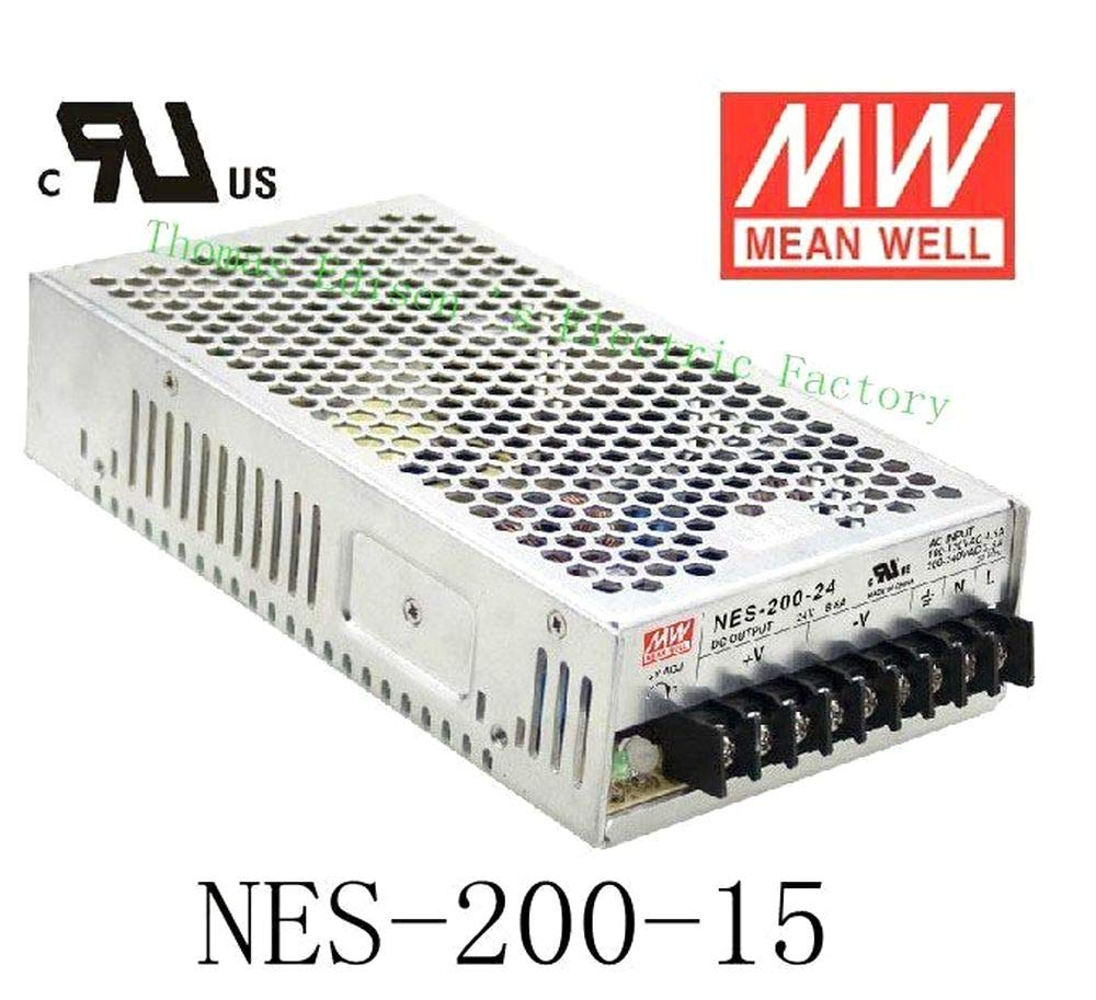 Original Mean Well Power suply Unit ac to dc Power Supply NES-200-15 200W 15V 14A MEANWELL