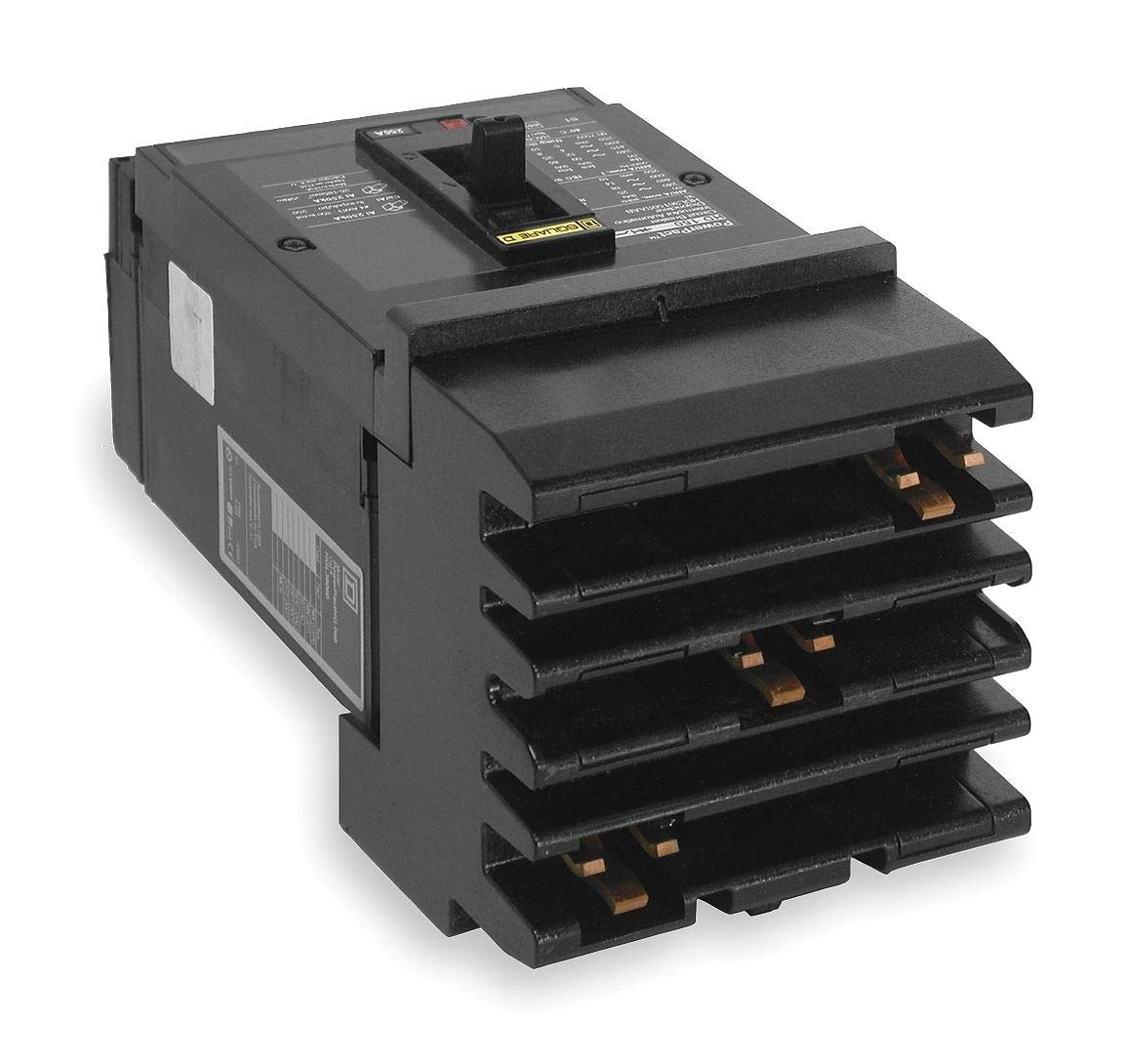Square D Circuit Breaker, 30 Amps, Number of Poles: 3, 600VAC AC Voltage Rating - HGA36030 by Square D