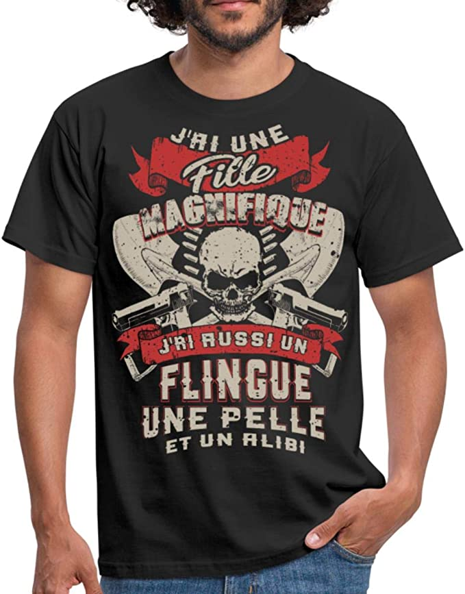 Acheter t-shirt homme tete de mort online 7