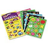 Trend : Scratch-And-Sniff Variety Sticker Pack, Mixed Shapes Variety Pack, 525/PK -:- Sold as 1 PK