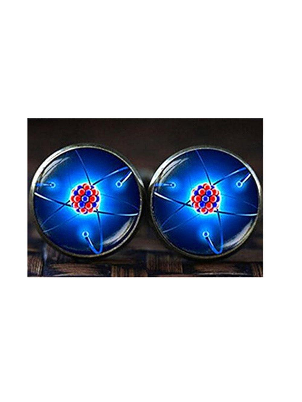 molécule Boutons de manchette, physique Science Boutons de manchette, boutons de manchette Forever family ce67