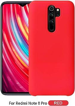 Custodia® Firmeza y Flexibilidad Smartphone Funda Carcasa Case Cover Caso para Xiaomi Redmi Note 8 Pro(6): Amazon.es: Electrónica