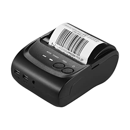 Aibecy POS-5802LN Impresora Térmica de Tickets y Recibos/Impresoras de Atiquetado Térmico de Escritorio-58mm 1 a 8 para Restaurante y Industria ...