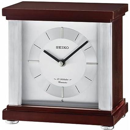 Seiko radio controlled mantel clock