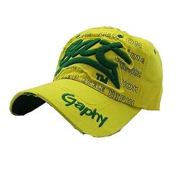 Zarupeng-Joyas Gorras beisbol,Zarupeng Gorras bordadas Bat Summer Cap para hombres mujeres Sombreros casuales Hip Hop Gorras de béisbol (Verde): Amazon.es: ...