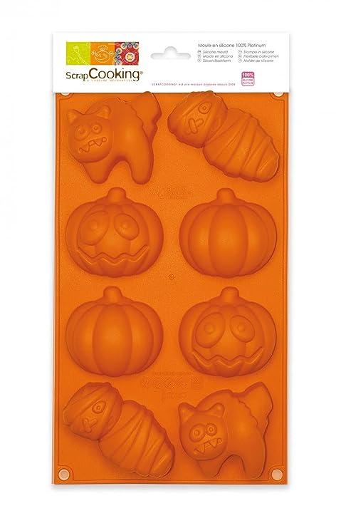 Amazon.com: ScrapCooking – (silicona), diseño de Halloween ...