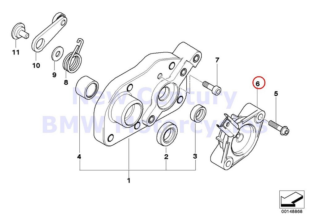 BMW Genuine Motorcycle Potentiometer With Wire A15 A40 R nine T R1200GS R1200GS Adventure HP2 Megamoto R1200RT R900RT R1200R HP2 Sport K1200S K1300S HP4 K1200R K1200R Sport K1300R K1200GT K1300GT S10 by BMW