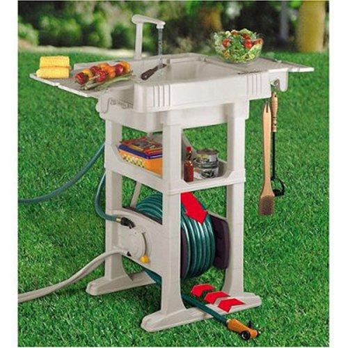 REEL SMART OUTDOOR SINK W/RE,Lawn & Patio,808183000318 ... on Patio Sink Station id=51405