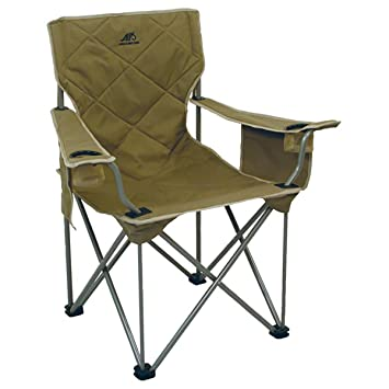 Captivating Alps Mountaineering King Kong Chair (Khaki)