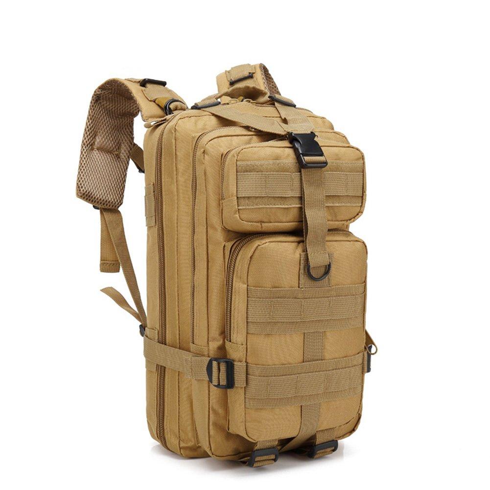 Outdoor Backpack Travelling Shoulders Bag for Men Women 30L Sand Color Camouflage