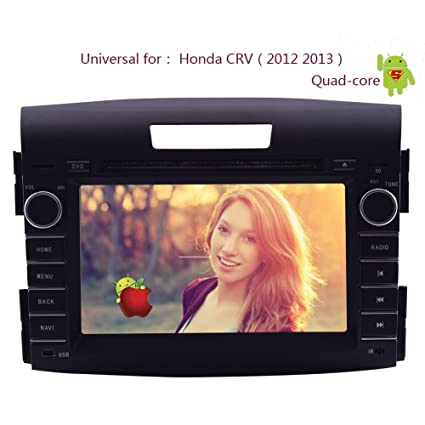 Android 4.4 Capacitive Multi-Touch Screen GPS Map Audio In Dash Car Video Receiver Auto radio BT Audio CD DVD Player Head Unit Stereo For Honda CRV CR-V ...
