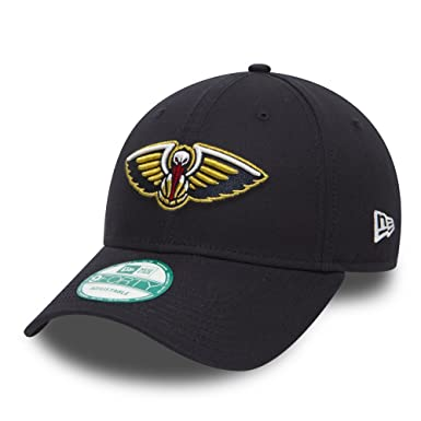 info for 63a14 9ec7f New Era 9FORTY New Orleans Pelicans Baseball Cap - NBA Team Colour - Navy  Adjustable