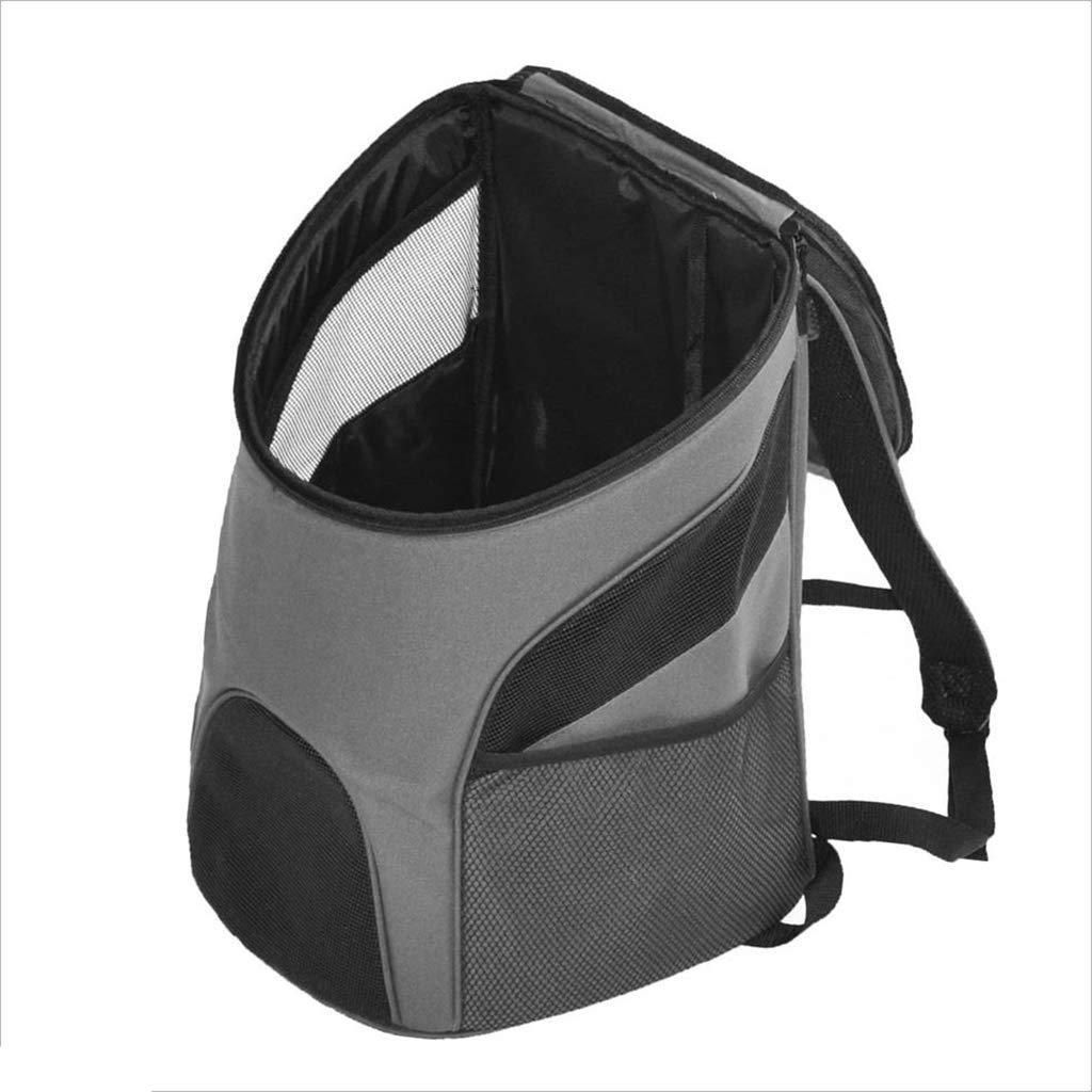 L JKL Pet Carrier Pet Backpack Portable Collapsible Pet Travel Out Bag Large Space Light Pet Bag Cat and Dog (Size   L)