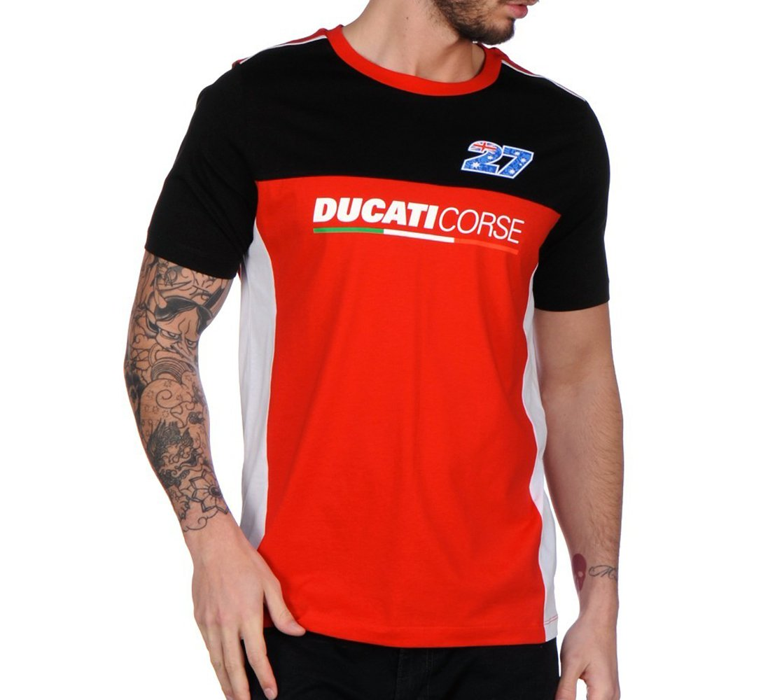 pritelli 1736021 Camiseta Hombre Casey Stoner Ducati, XXL: Amazon ...