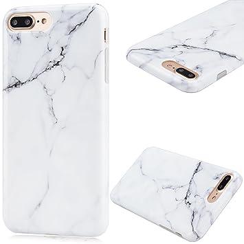 Funda iPhone 7 / 8 Plus Carcasa Silicona Case Anfire Suave Flexible TPU Gel Fundas Cubierta Ultra Delgado Protección Cáscara Goma Flexible Cover Anti ...