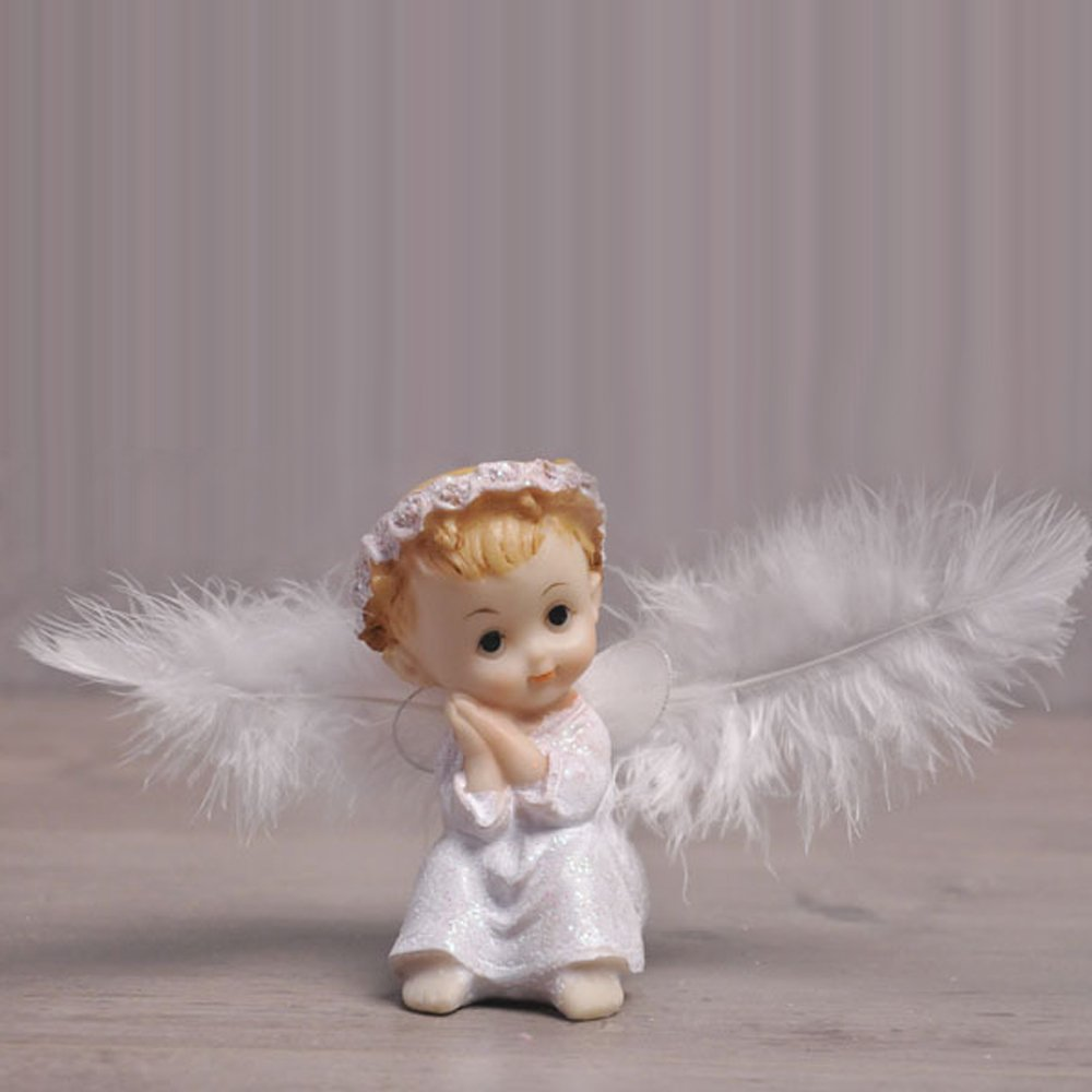 Angel Baby Cake Toppers Lovely Cake Decoration Cute Creative Party/Car/Home/Office Ornaments (A)