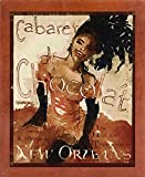 Cabaret Chocolate Framed Print 20.00''x16.23'' by Vintage Apple Collection