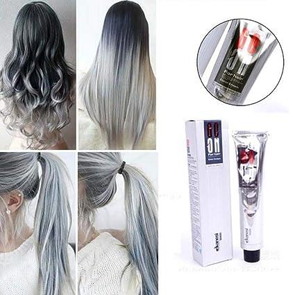 Color de pelo gris ceniza