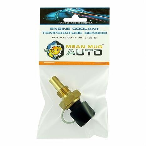 Mean taza Auto 13518 – 32019 un sensor de temperatura del refrigerante del motor – para