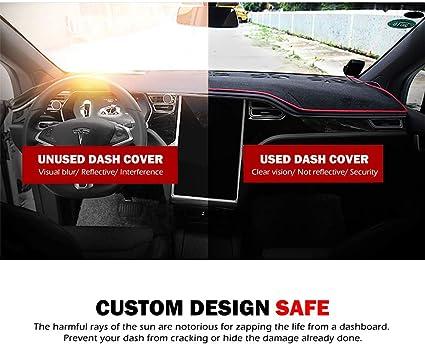Dash Cover Dashboard Sun Shade Cover Alfombra para Modelo S