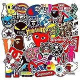 100 pegatinas de vinilo diseño tipo graffiti Mejor vinilo de las etiquetas engomadas Pack Todos los estilos diferentes…