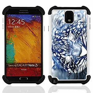King Case - Mountain Lion Puma Painting - Cubierta de la caja protectora completa h???¡¯???€????€?????brido Body Armor Protecci??&AEl