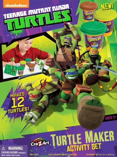 Cra-Z-Art Teenage Mutant Ninja Turtles Mold n' Play Activity Set -