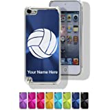 Case for iPod Touch 5th/6th Gen - Volleyball Ball - Personalized Engraving Included